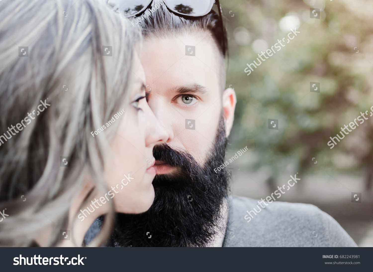 closeness two people who like one stock photo edit now 682243981