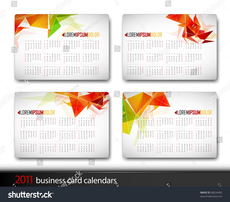 business card calendar template eliolera