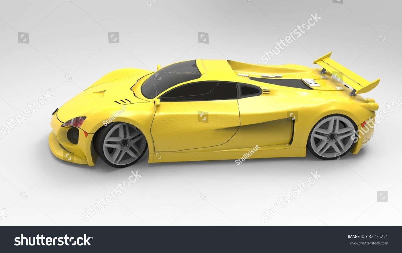 D Model Very Cool Car Stock Illustration Shutterstock - Cool car models
