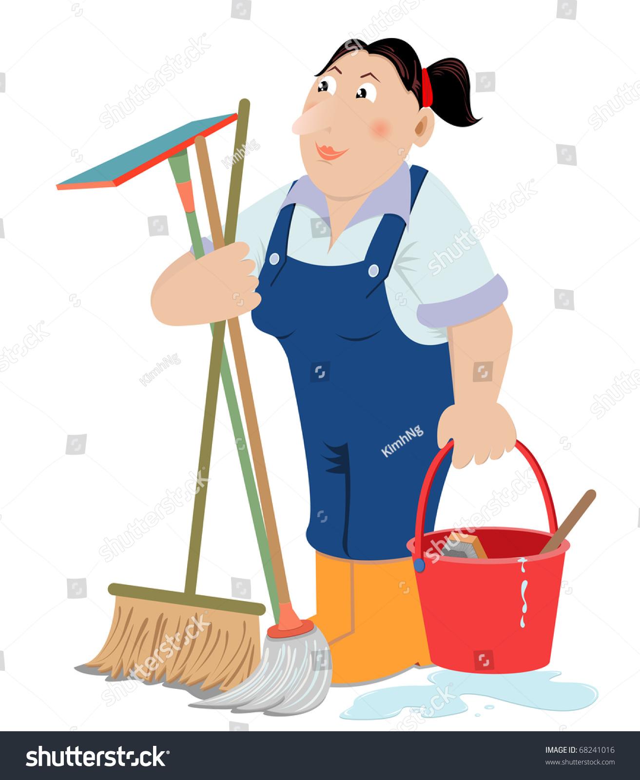 Domestic Help Clip Art