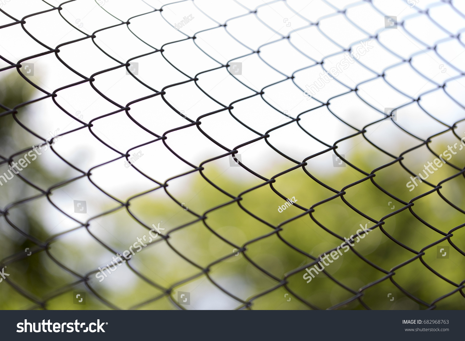 Green Wire Fence On Background Green Stock Photo (Royalty Free ...