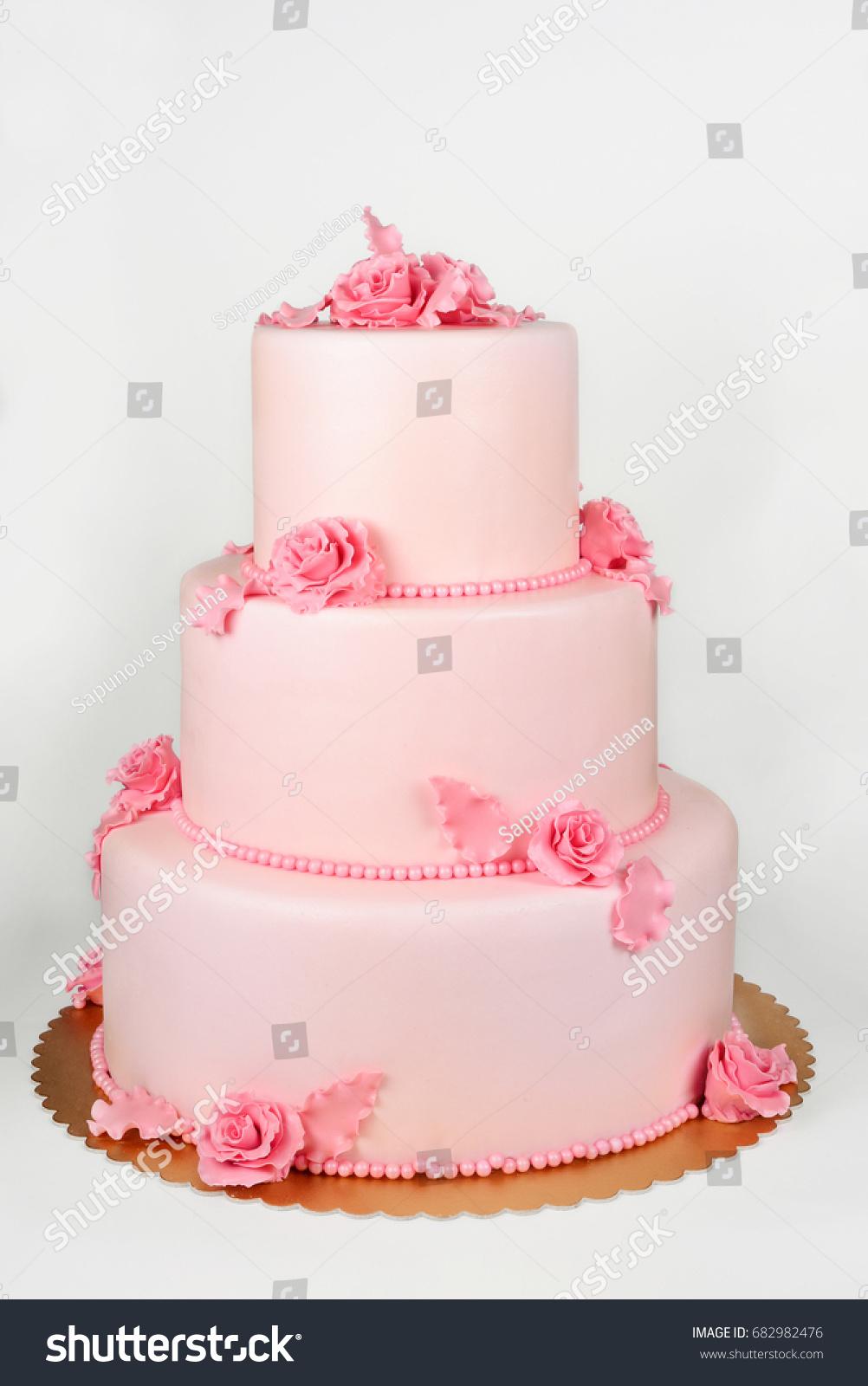 Big cake on white | EZ Canvas