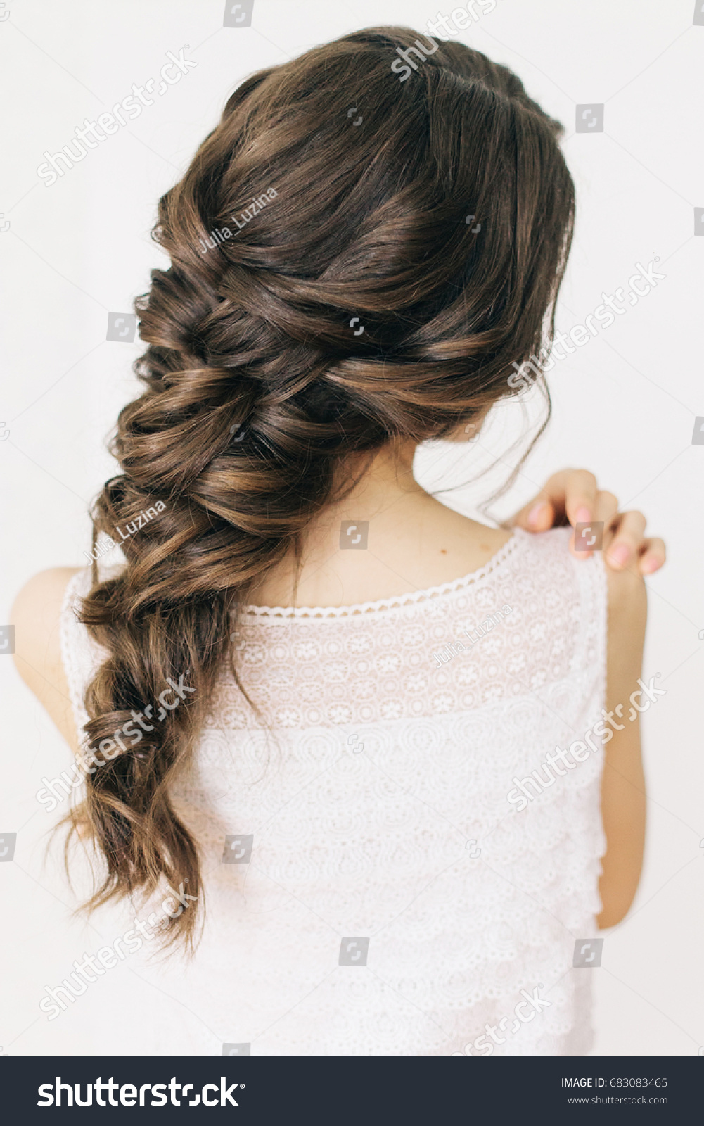 Outstanding Braided Hair Images Stock Photos Vectors Shutterstock Natural Hairstyles Runnerswayorg