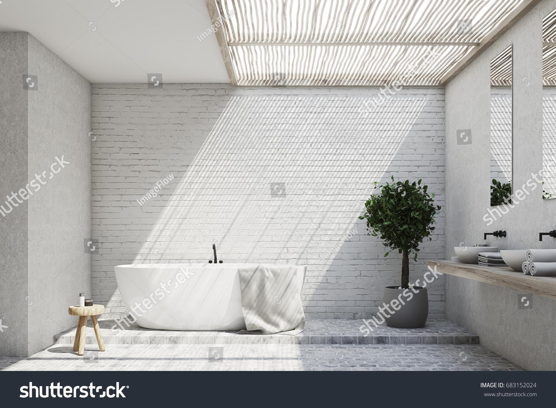 double slipper acrylic bathroom tub caprino