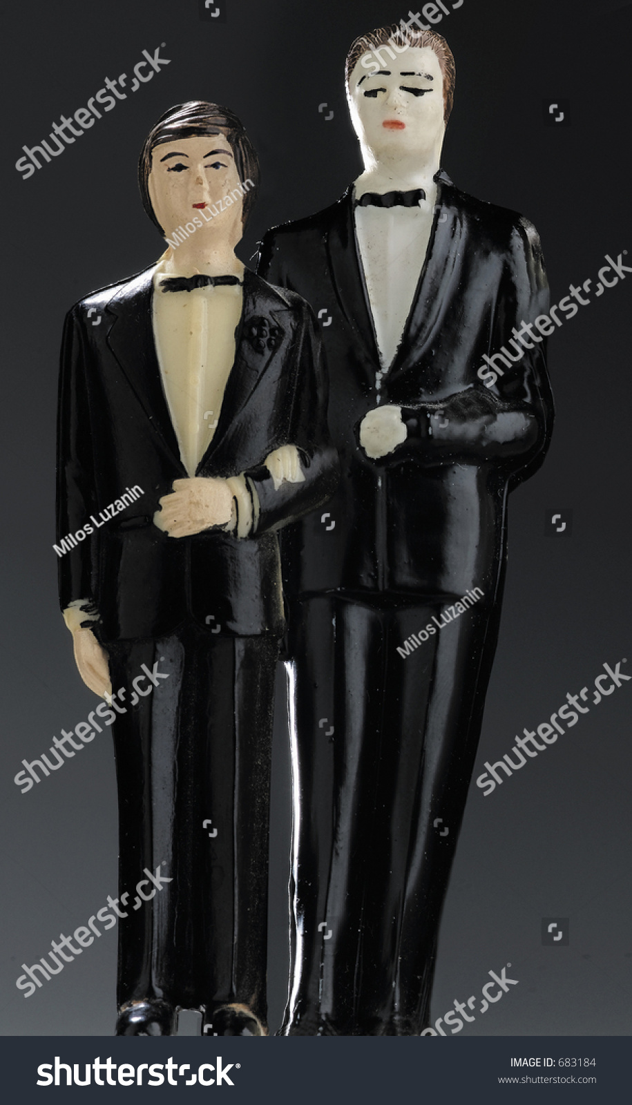 Two Guys Wedding Suits Stock Photo 683184 - Shutterstock