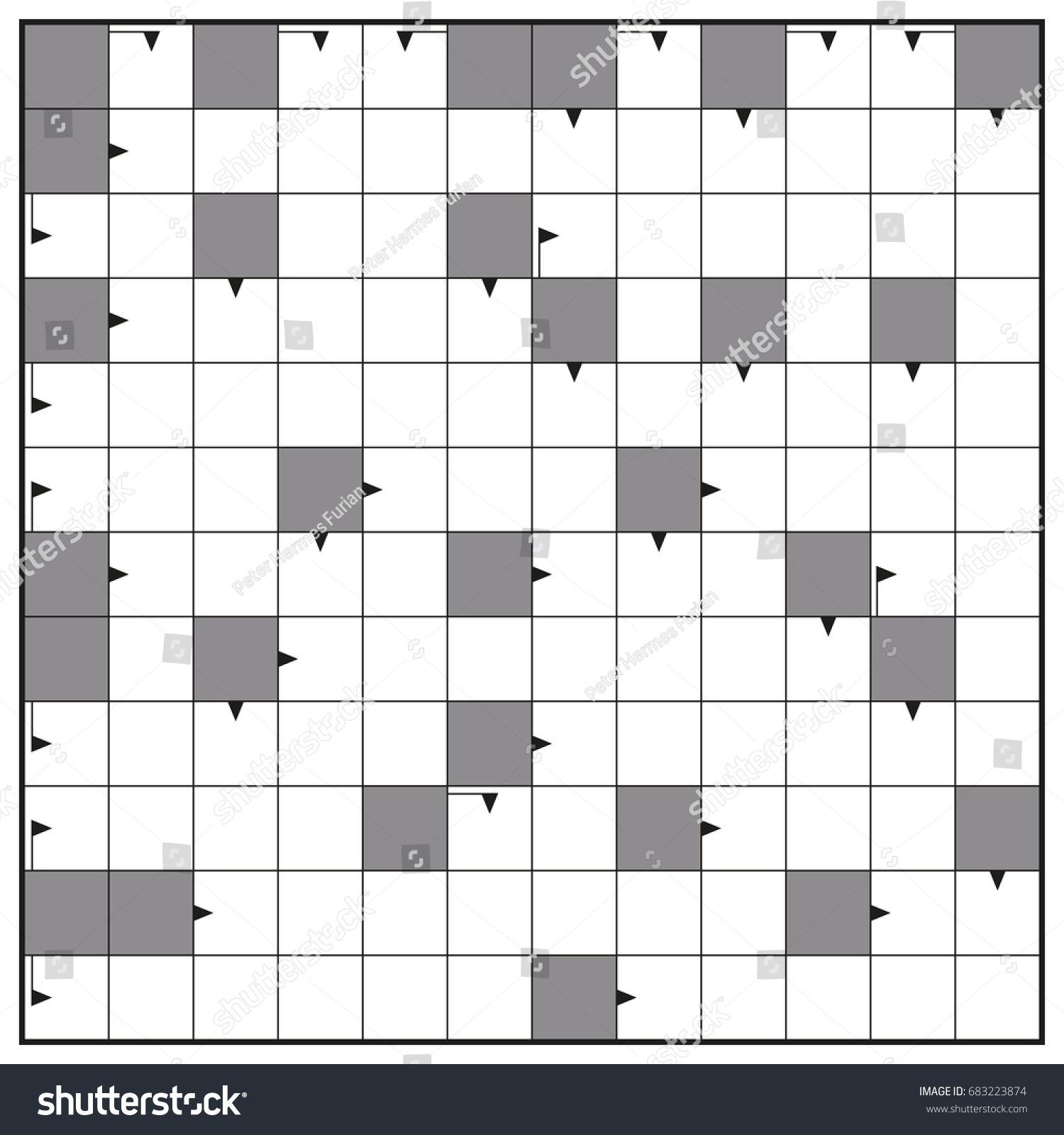 Crossword Blank Template Vip Pass Invitations Was Great – Blank Crossword Template
