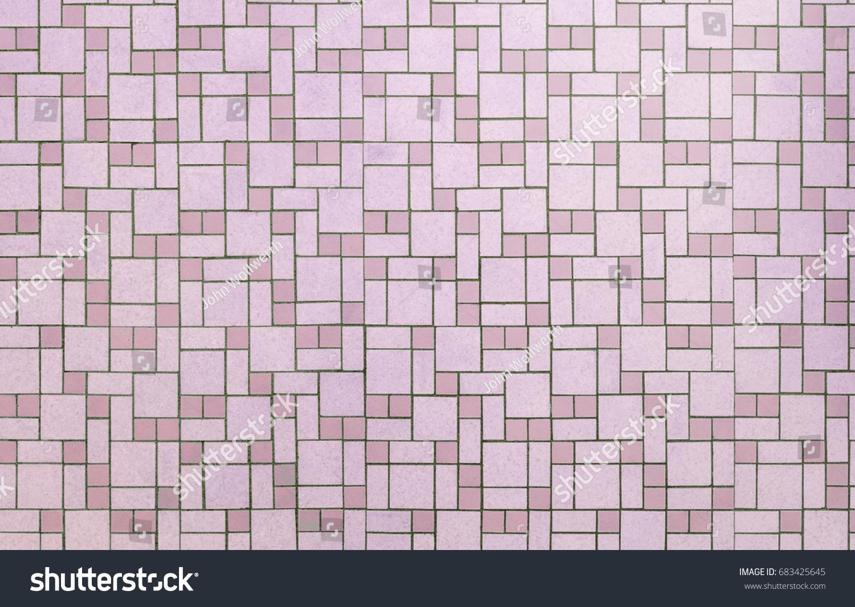 Vintage Pink Seamless S Bathroom Tile Stock Photo Download Now - 1950s bathroom tile