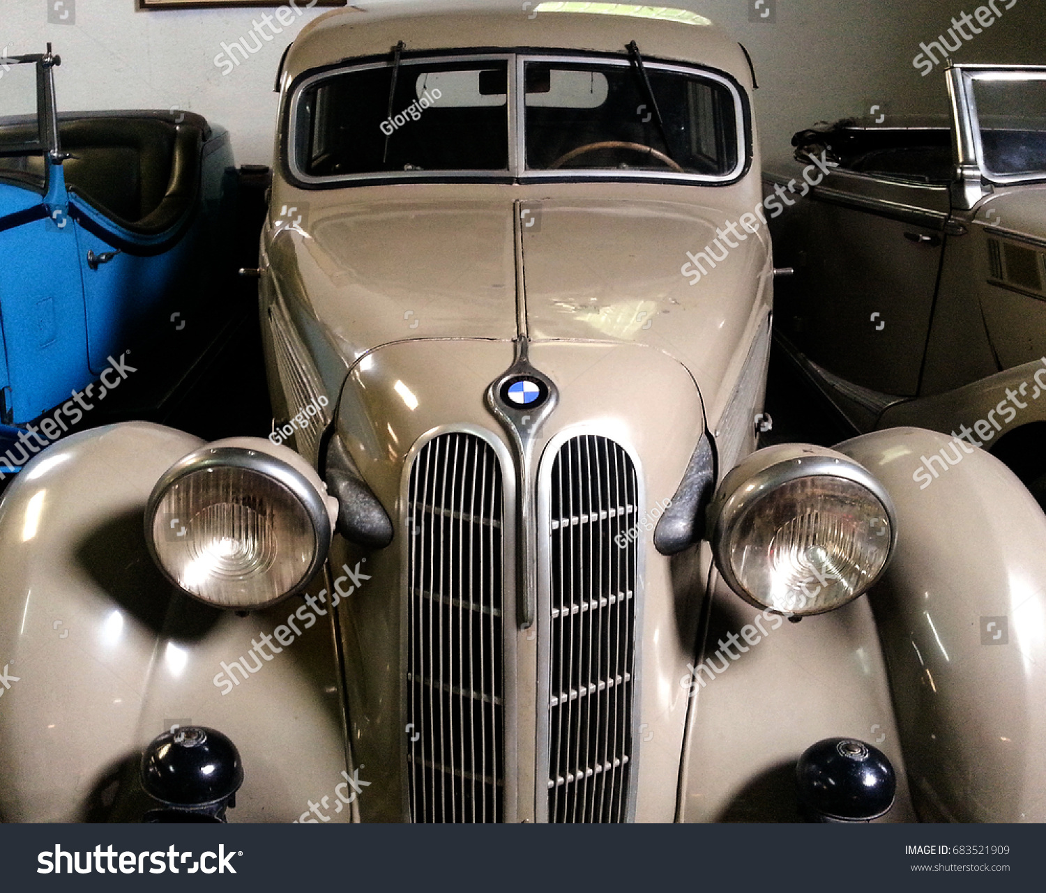 Sils Girona Spain May 252014 Cars Museum Stock Photo (Edit Now ...