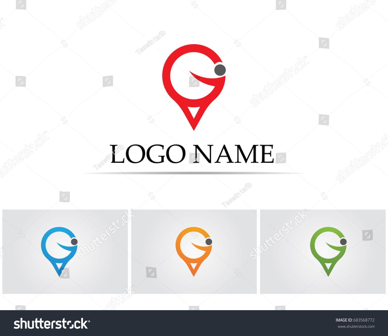 g maps logo symbols stock vector   shutterstock - g maps logo and symbols
