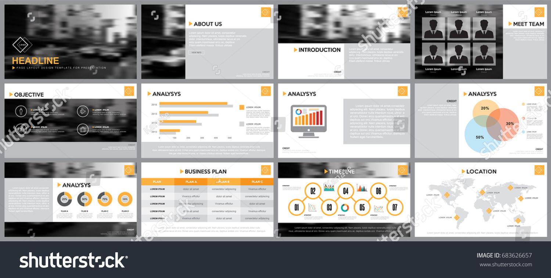 Design Element Infographics Presentations Templates Annual Vector de ...