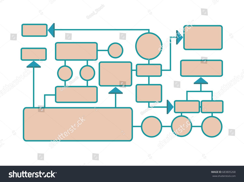 Free work process flow chart template