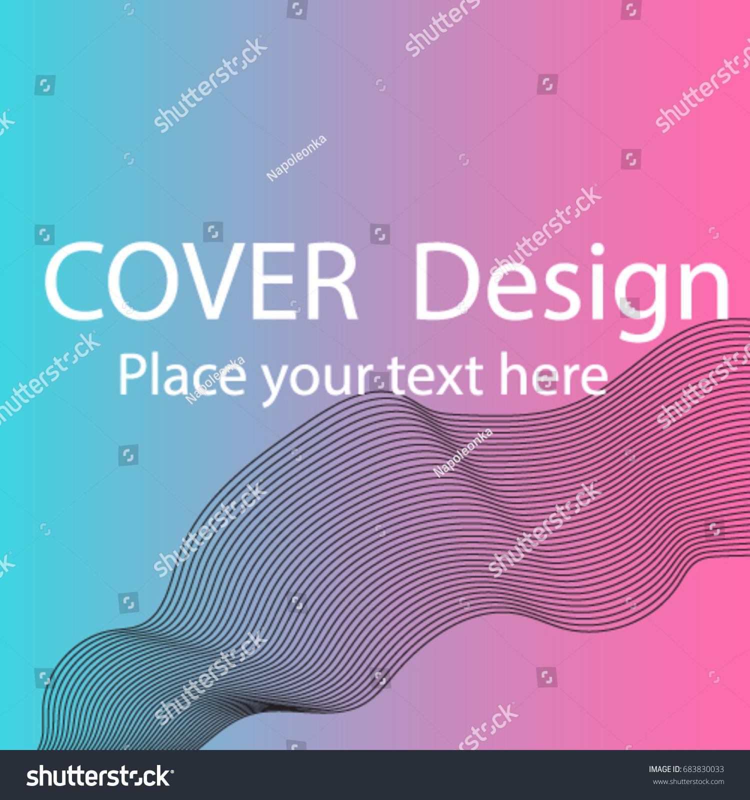 Design banner minimalist - Duo Tone Cover Design Geometry Halftone Banner Minimalist