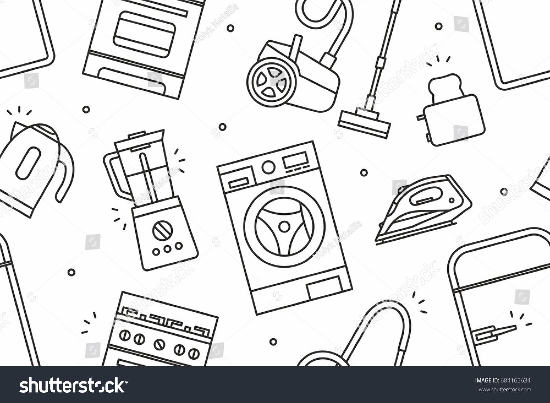 Home Appliance pattern