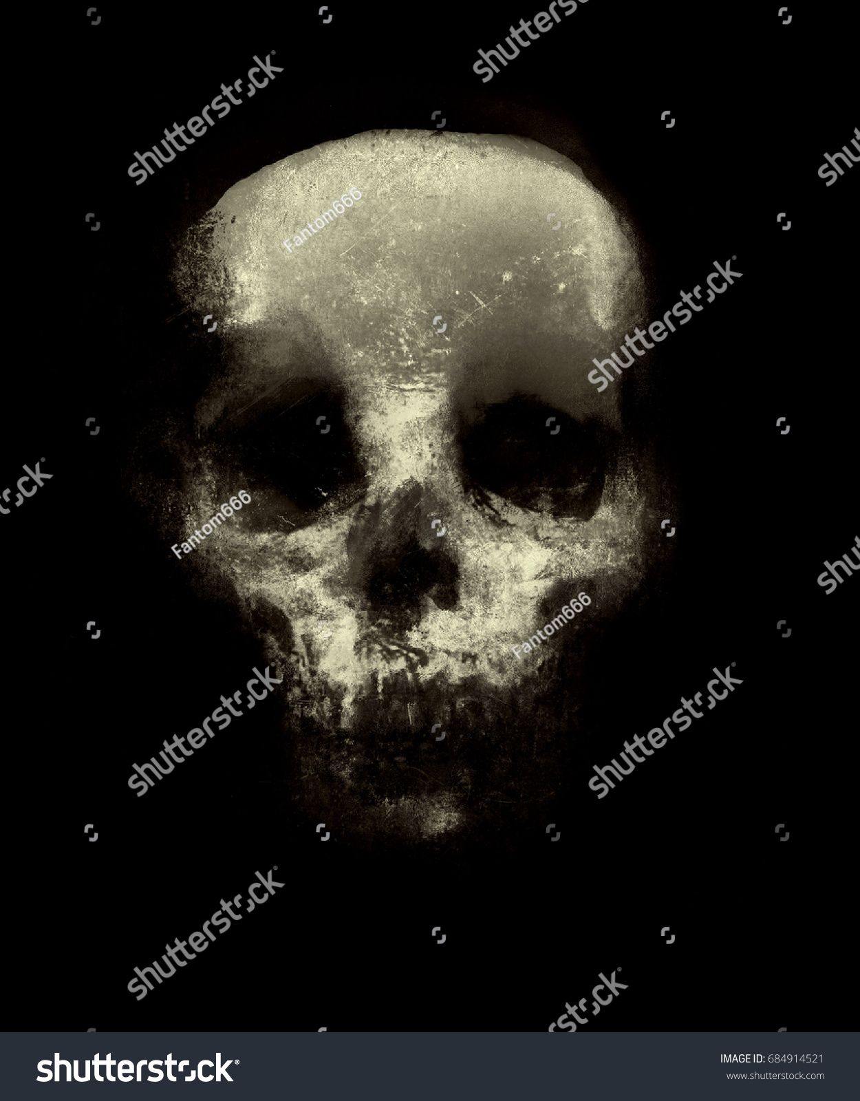 Wonderful Wallpaper Halloween Grunge - stock-photo-scary-grunge-wallpaper-halloween-background-with-spooky-skull-design-for-t-shirt-print-with-684914521  Pictures_232278.jpg