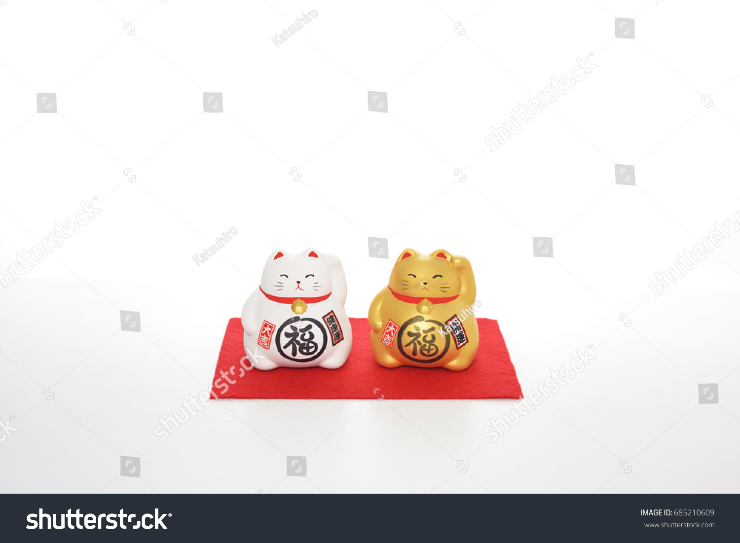 Cat Symbol Made Usually Ceramic Ones Stock Photo 100 Legal