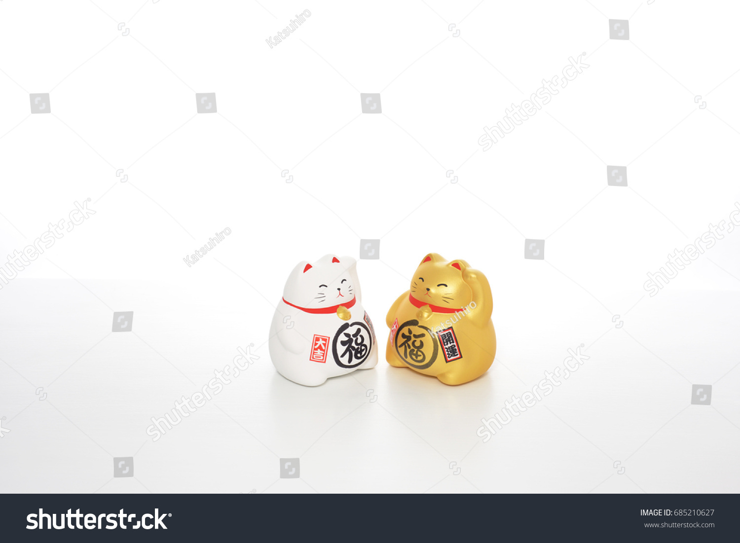 Cat Symbol Made Usually Ceramic Ones Stock Photo Edit Now