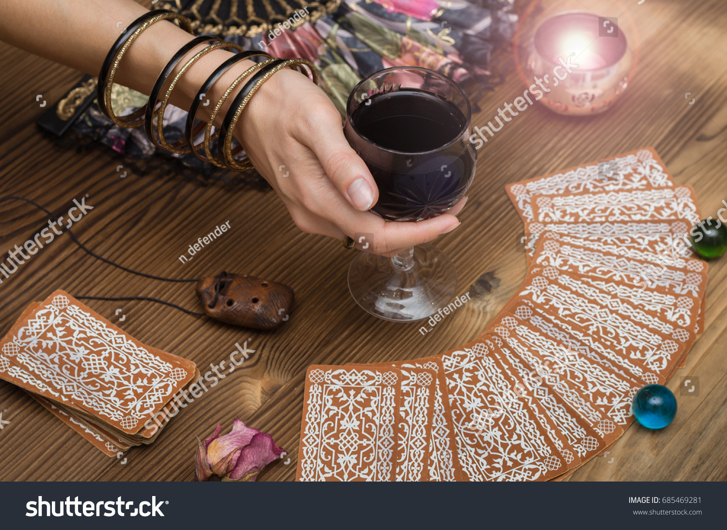 Divination by the groom