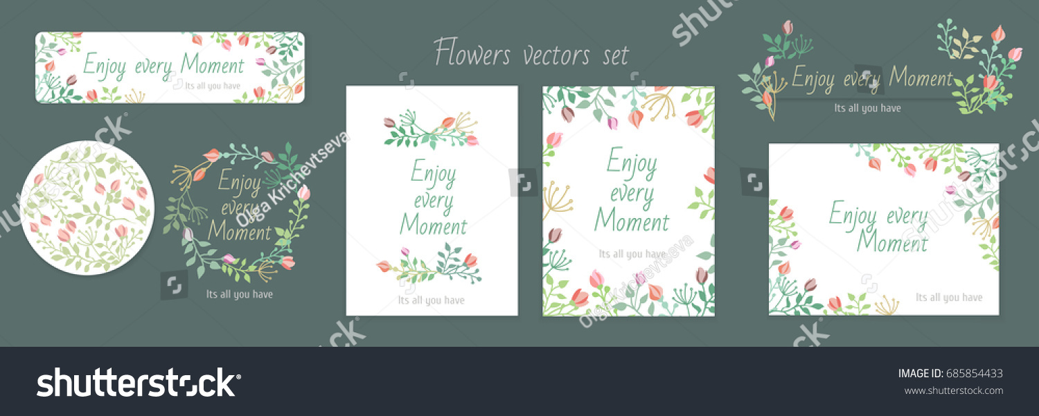 Invitation gala pattern spring flowers vectors stock vector 2018 invitation gala pattern spring flowers vectors set card background design celebration wedding stopboris