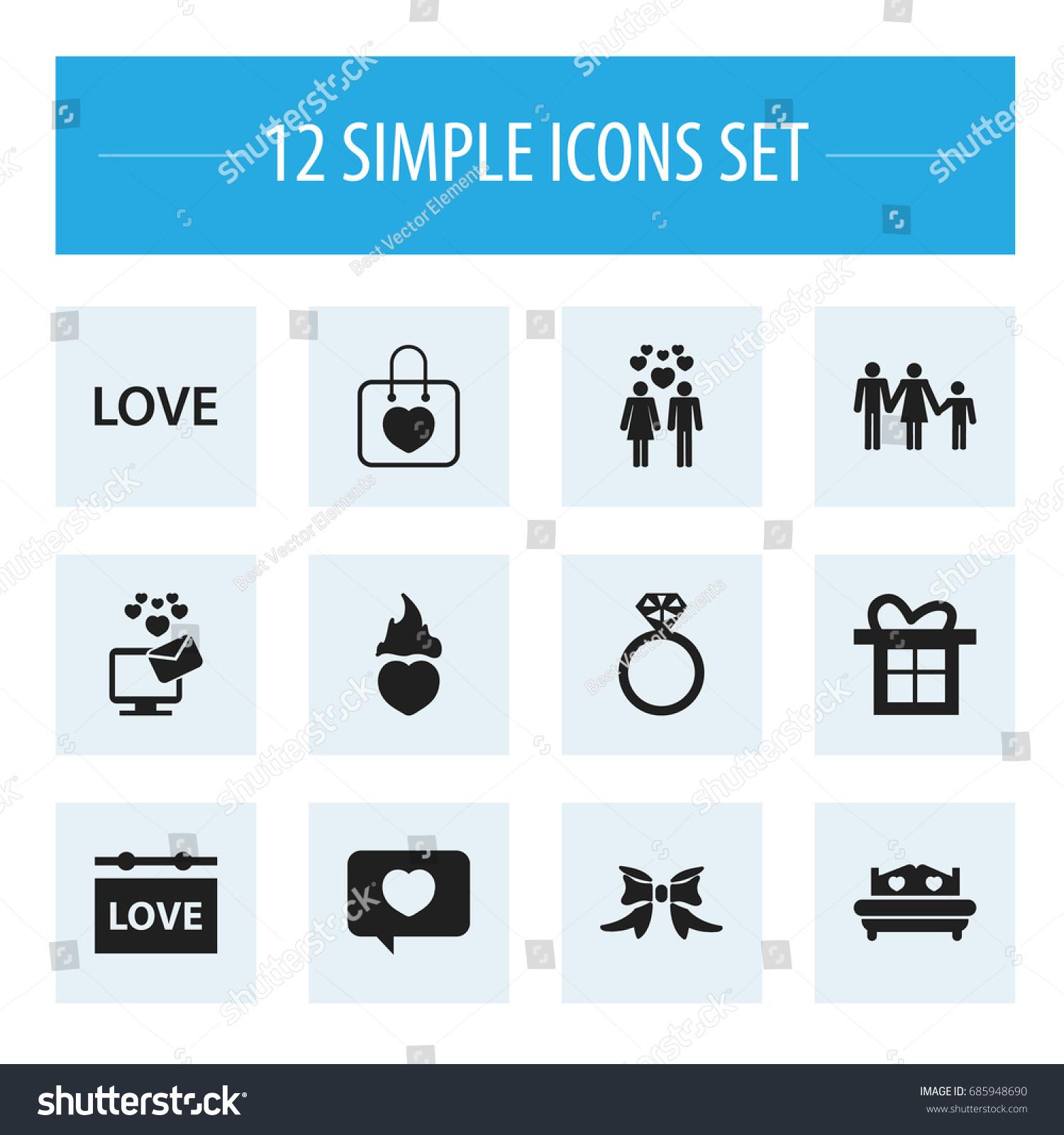 Heart text message symbols choice image symbol and sign ideas set 12 editable heart icons includes stock vector 685948690 set of 12 editable heart icons includes biocorpaavc