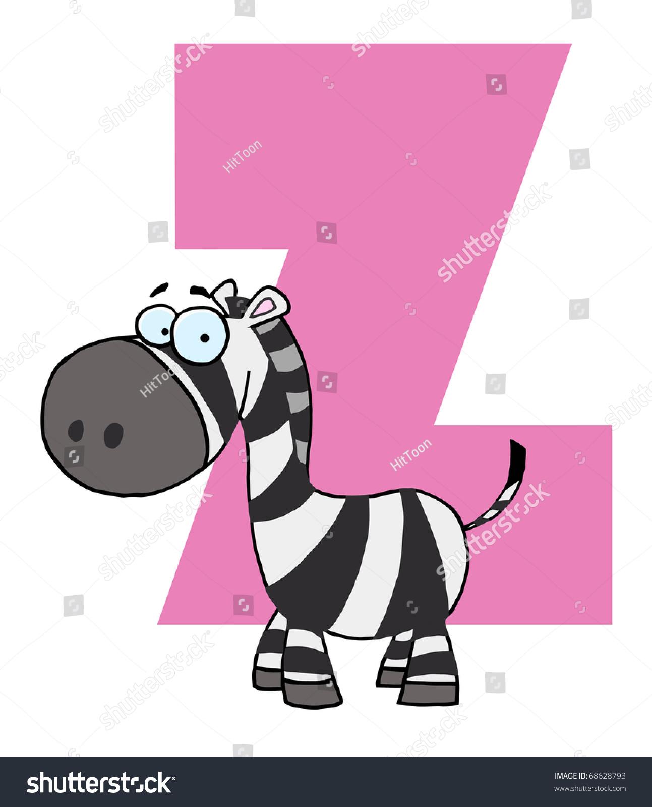 Letter Z Zebra Stock Illustration 68628793 - Shutterstock