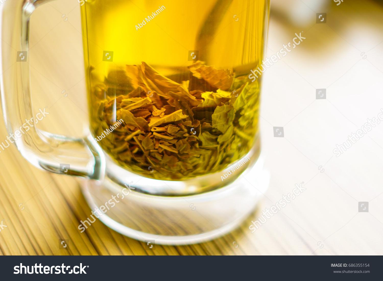 Fresh Hot Jasmine Tea Made By Stock Photo Edit Now 686355154