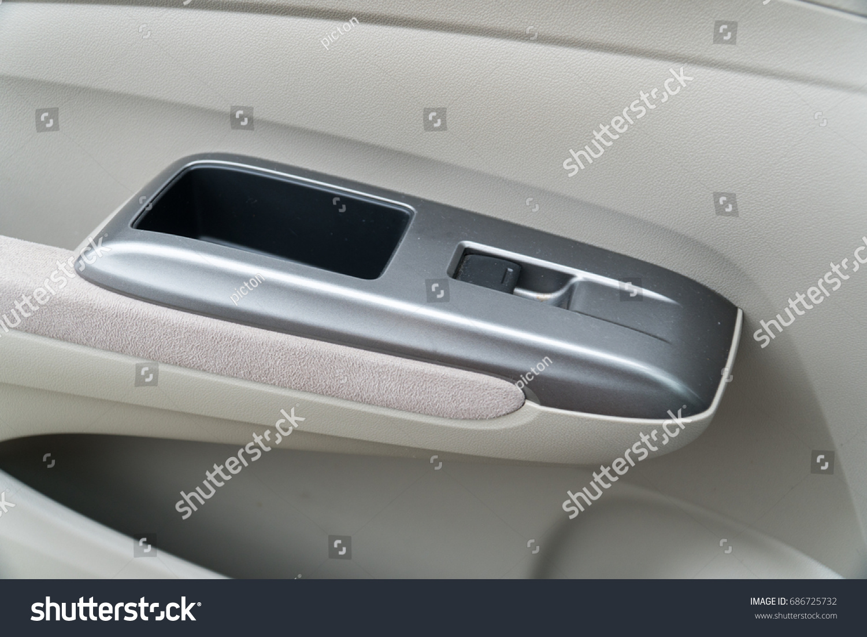 Car Interior Door Handles Stock Photo Edit Now 686725732