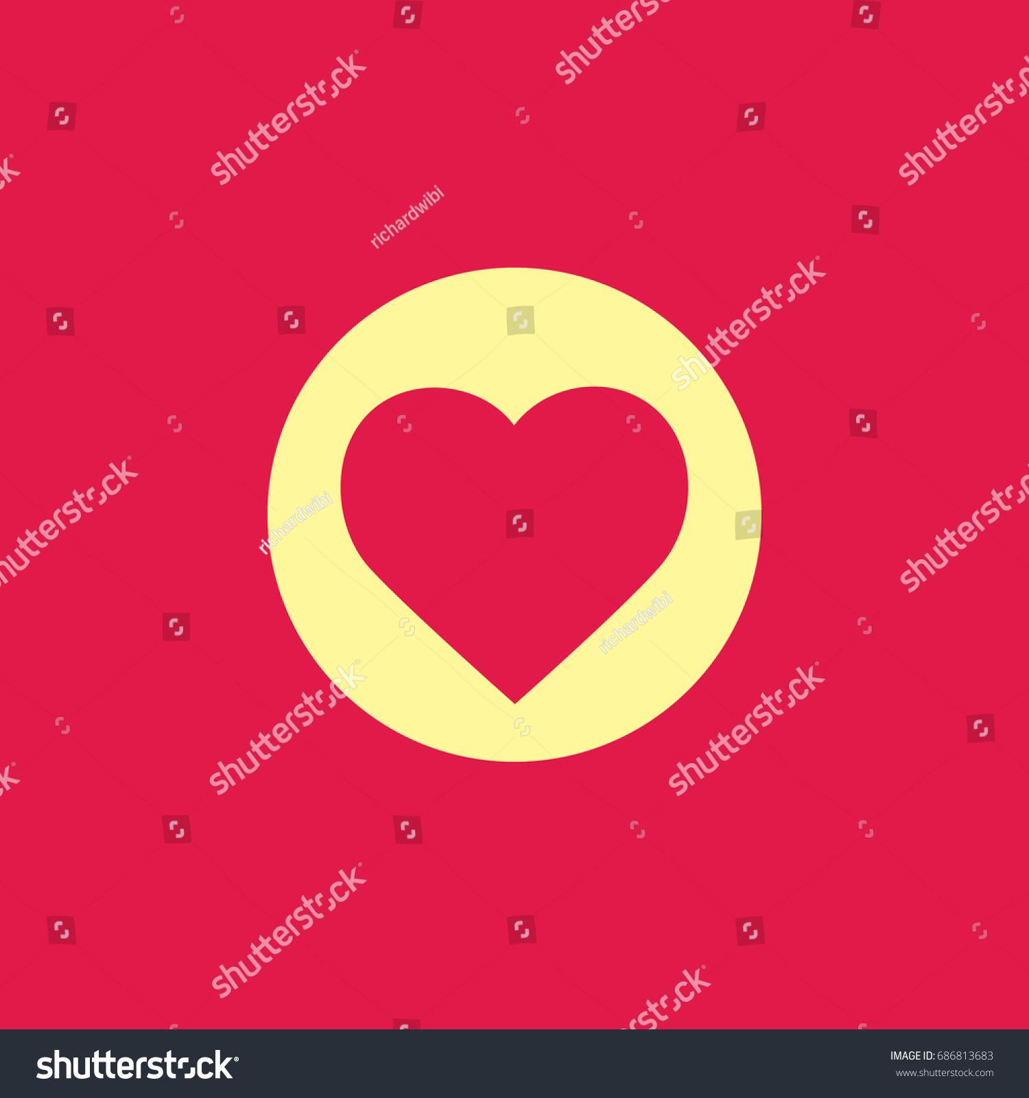 Love vector love circle stock vector 686813683 shutterstock love vector love in circle buycottarizona