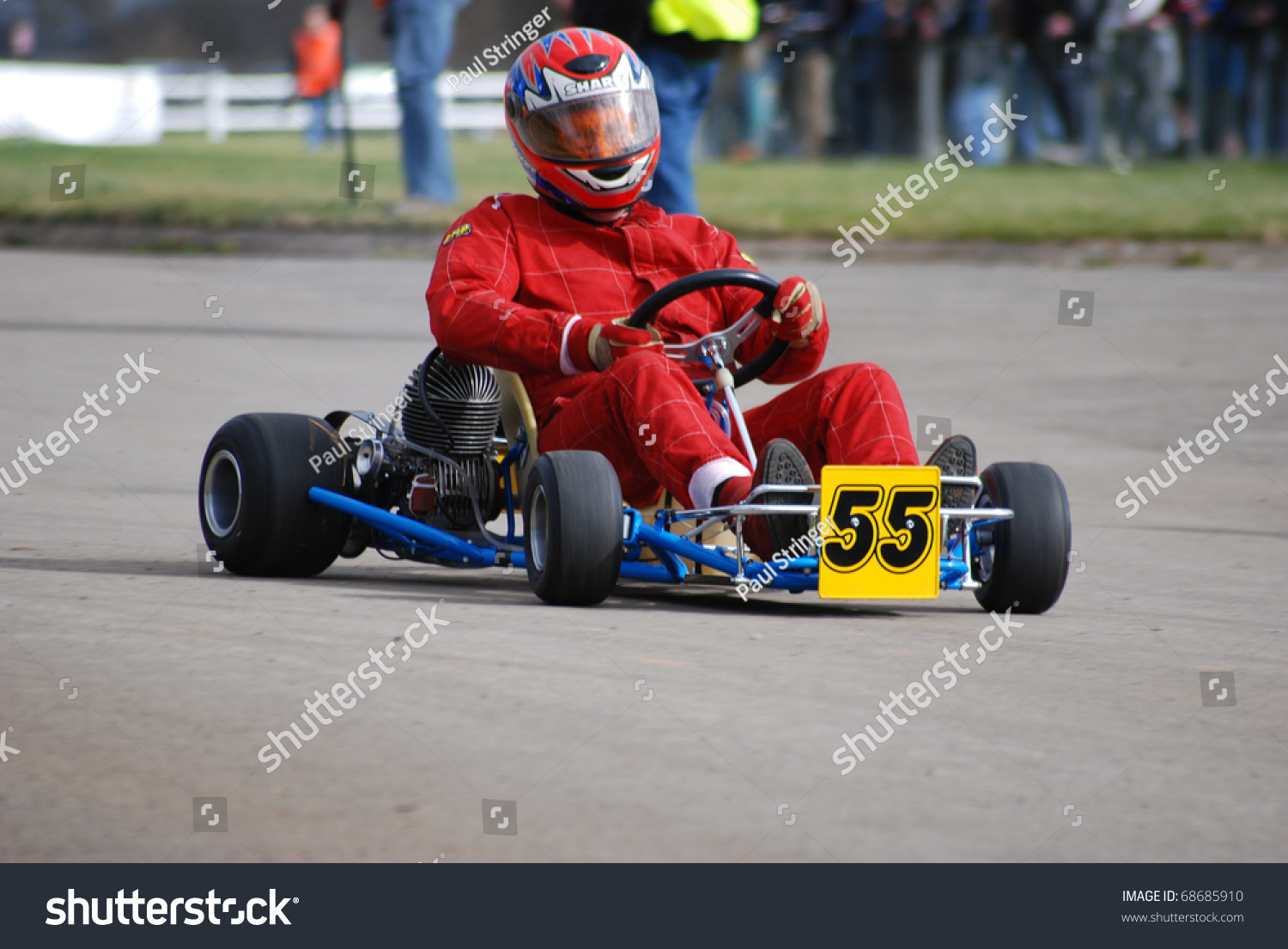 Coventry England March 14 Go Kart Royalty Free Stock Image