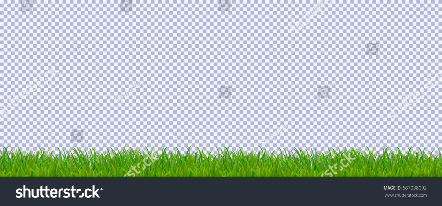 turf transparent background. grass border isolated on transparent background template for your projects vector illustration turf r