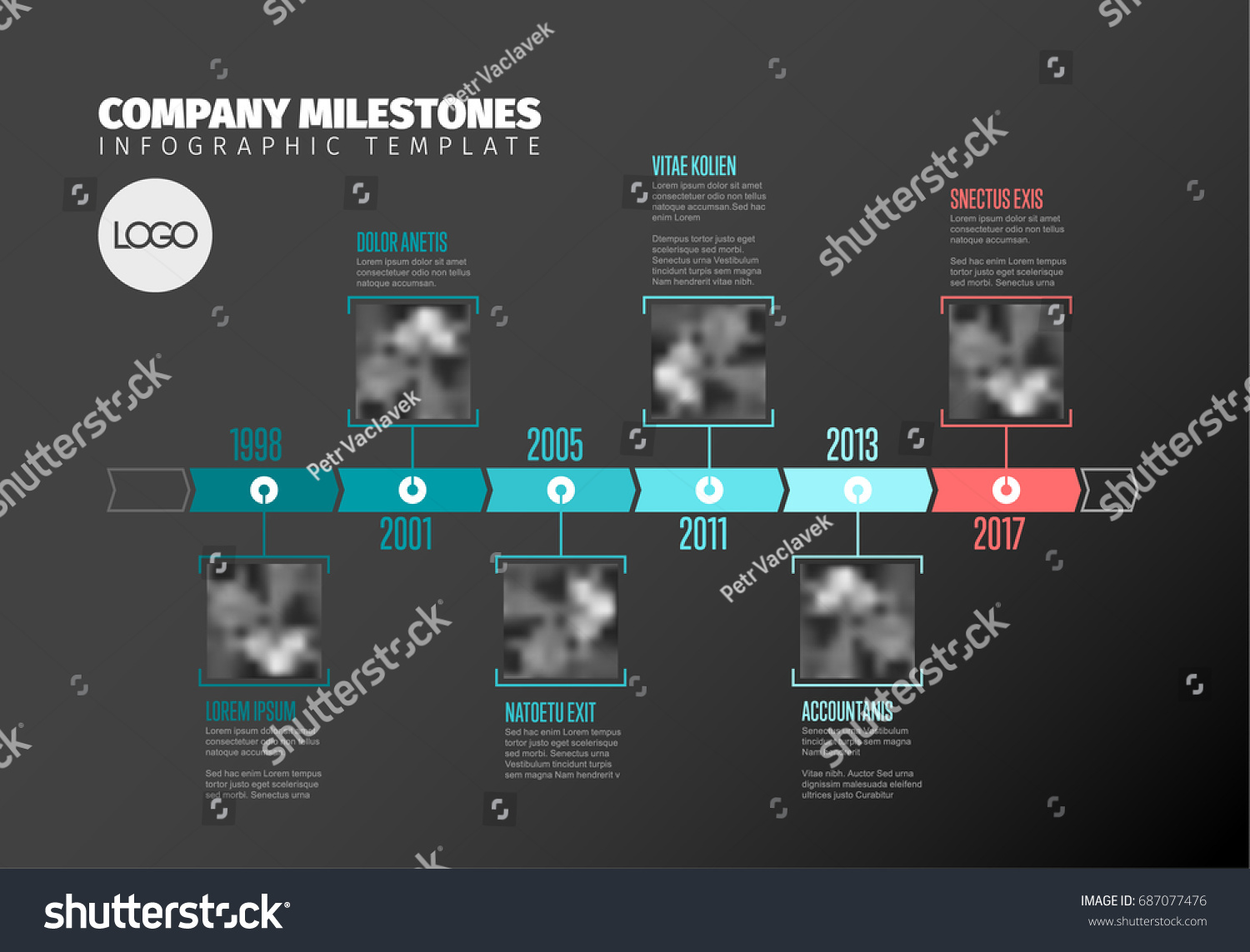 Top infographic animation
