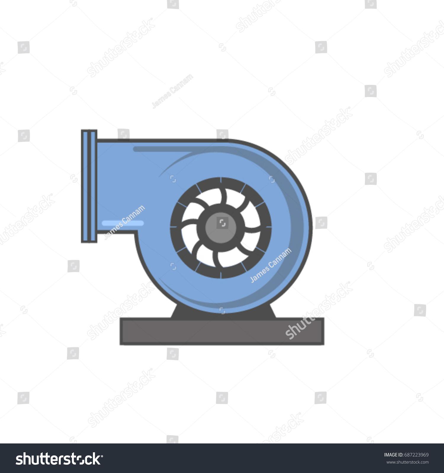 Centrifugal Fan Icon : Centrifugal fan stock vector shutterstock