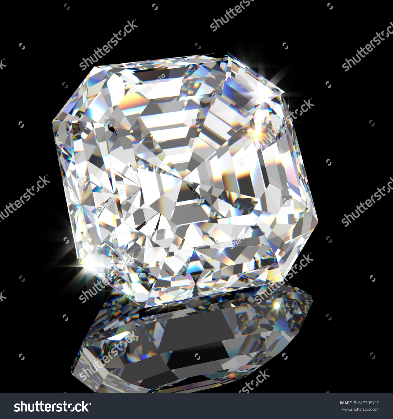 popular square diamonds a with cut shape facets coster asscher shapes netherlands of banner s compared this from asher to diamond the often most royal one it is