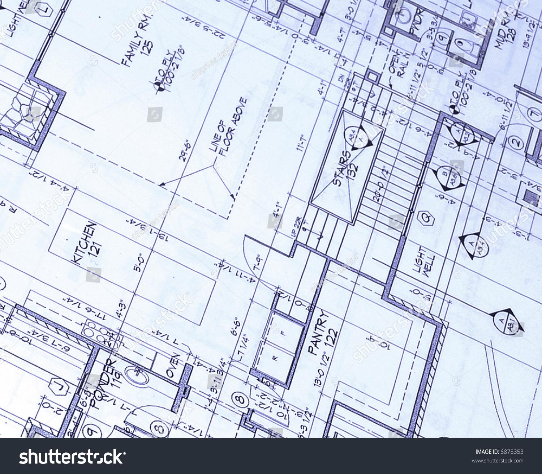 Magnificent Abstract House Plans Stock Photo 6875353 Avopix Com Download Free Architecture Designs Embacsunscenecom