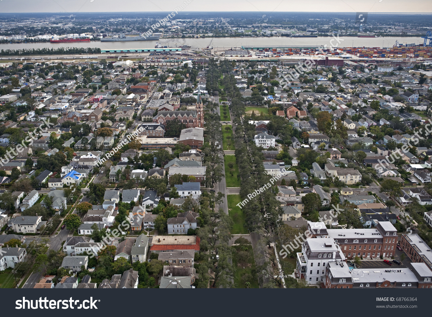 New Orleans, Louisiana About One Year After Hurricane Katrina Stock ...