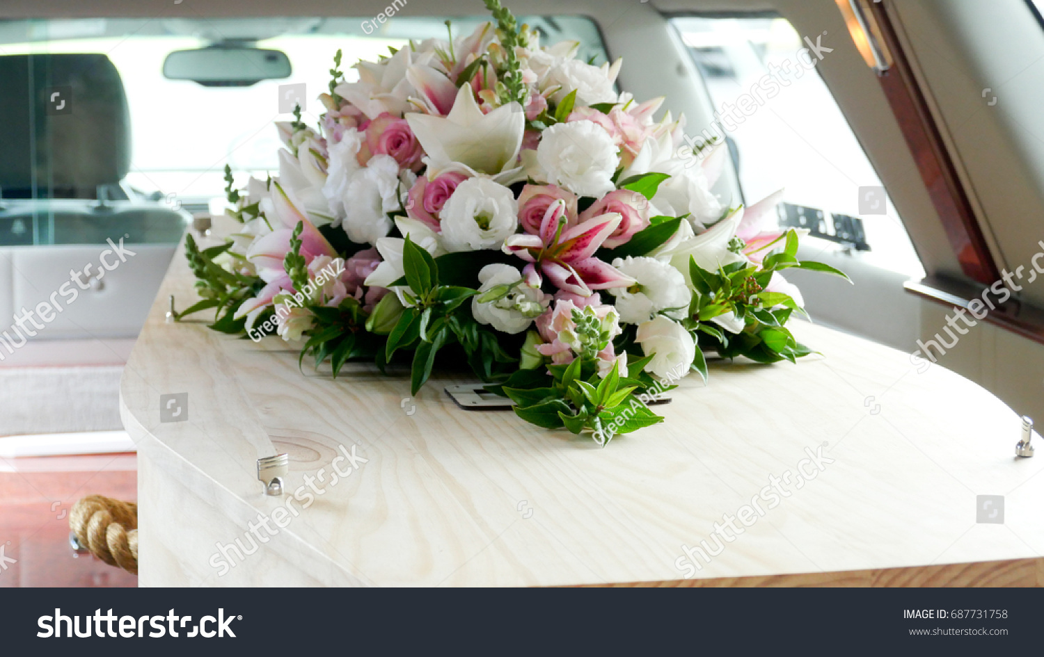 Funeral casket coffin burial celebrate death stock photo edit now funeral casket coffin burial celebrate the death goodbye loved one izmirmasajfo