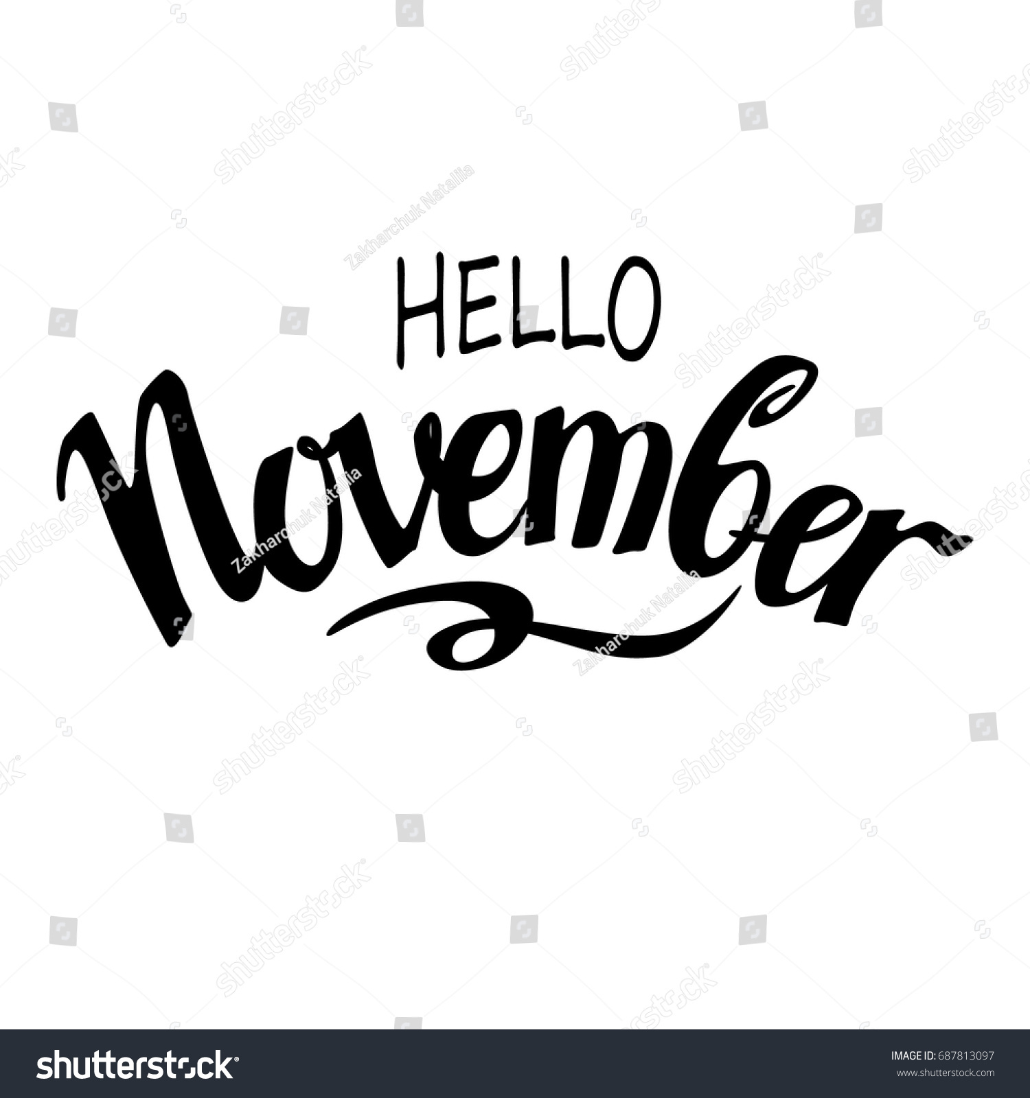 2019 year for lady- Word November pictures