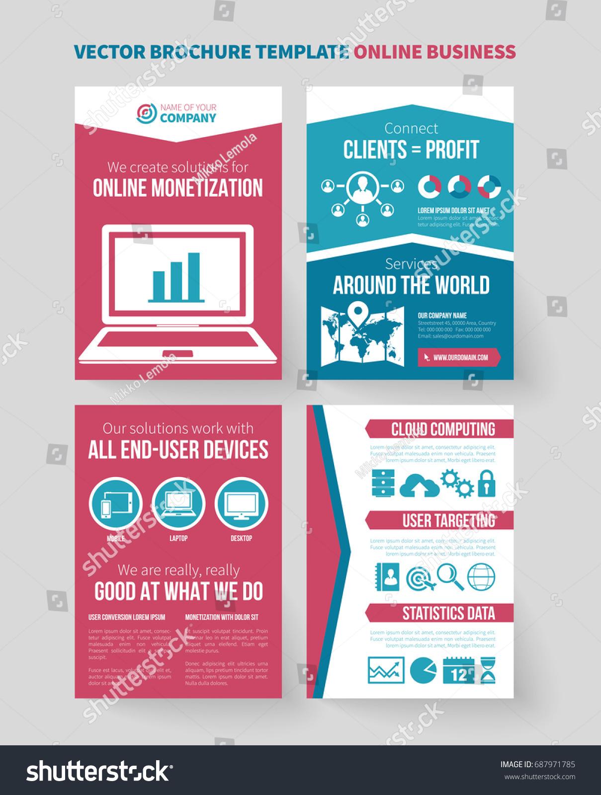 online brochure template