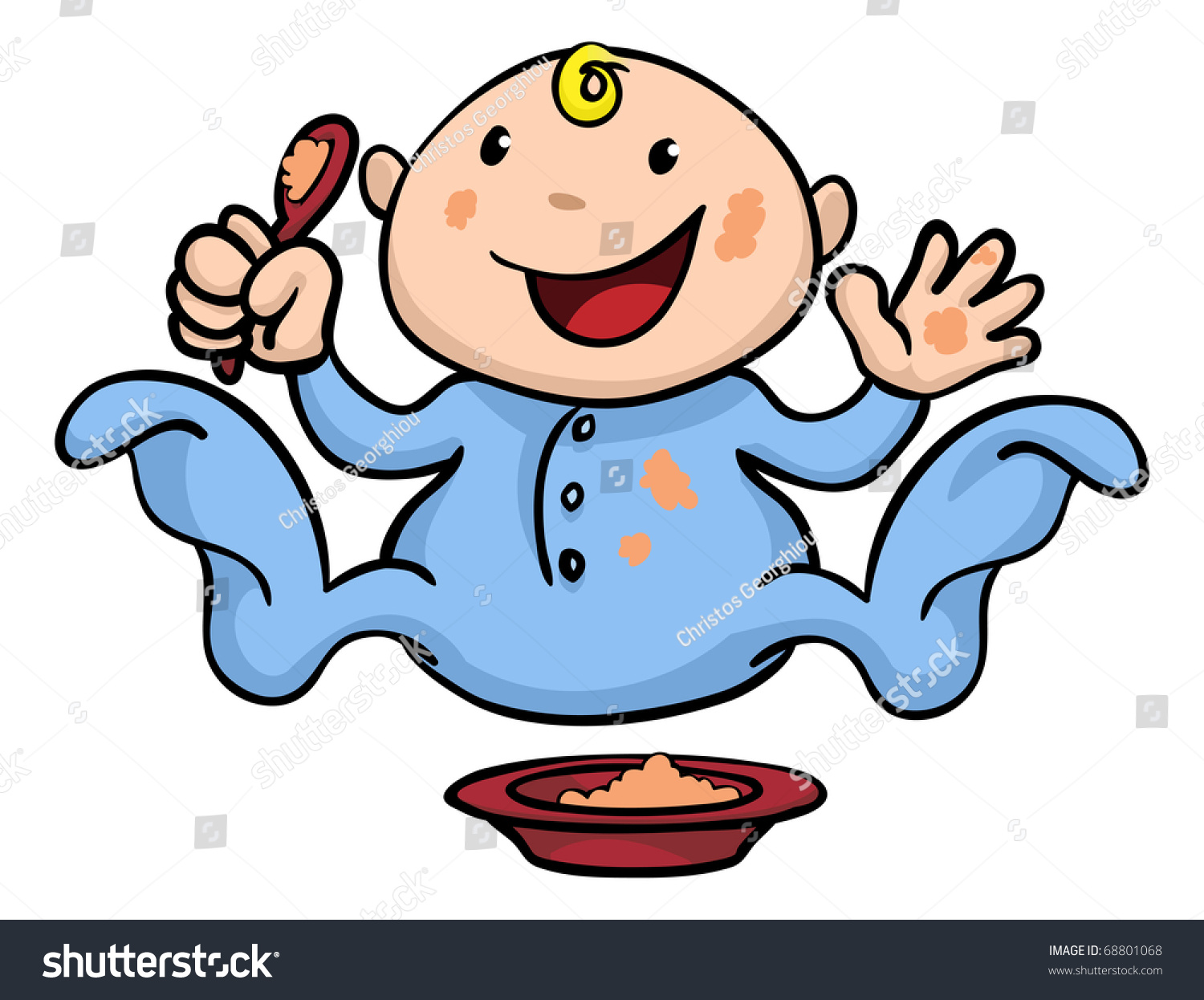 baby eating clipart - photo #7