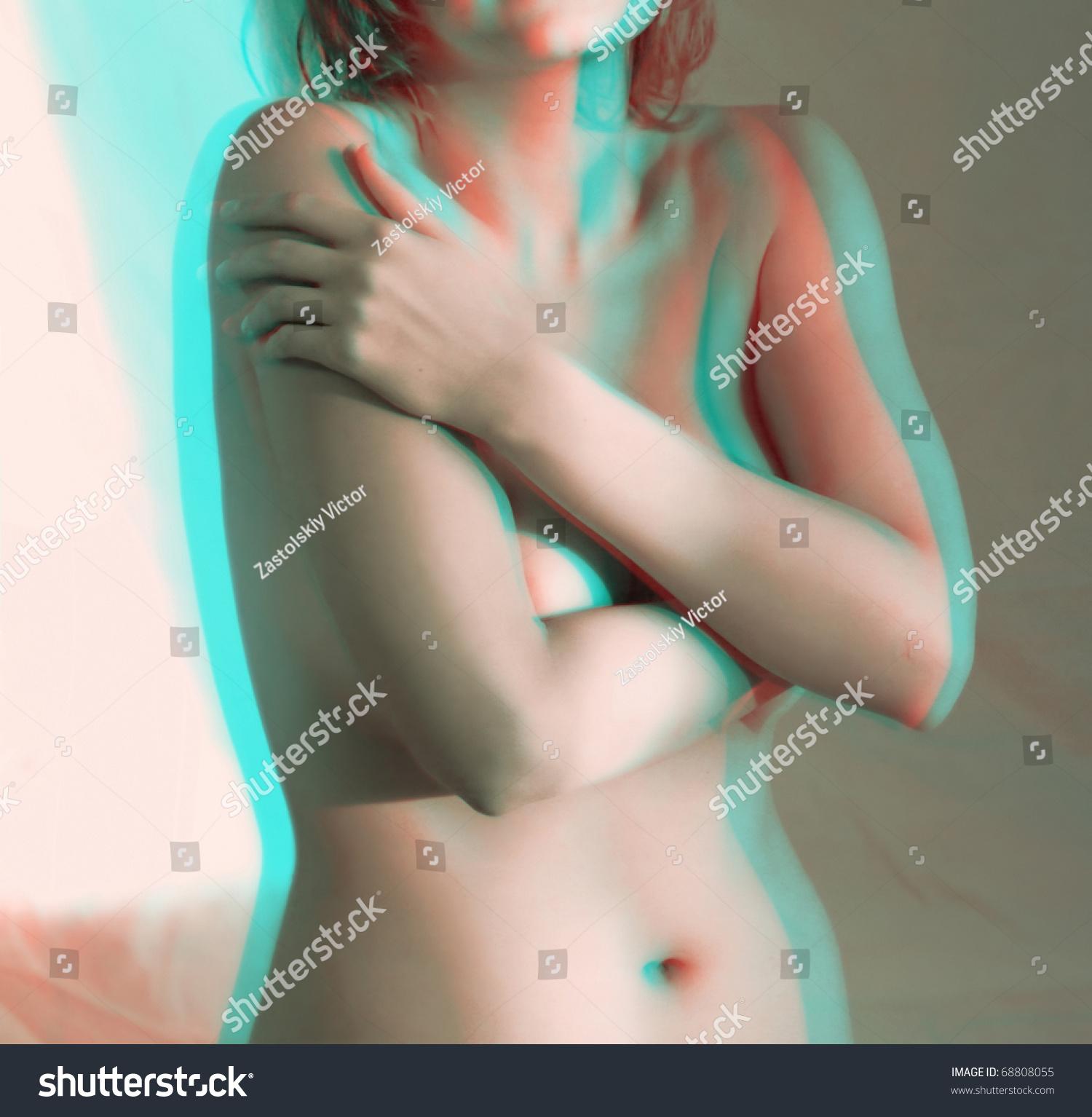 Nude stereoscopic porn