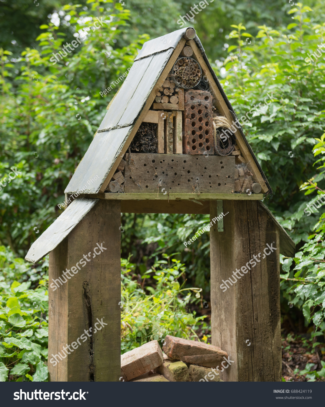 Insect Nesting Box Bug House Country Stock Photo (Royalty Free ...