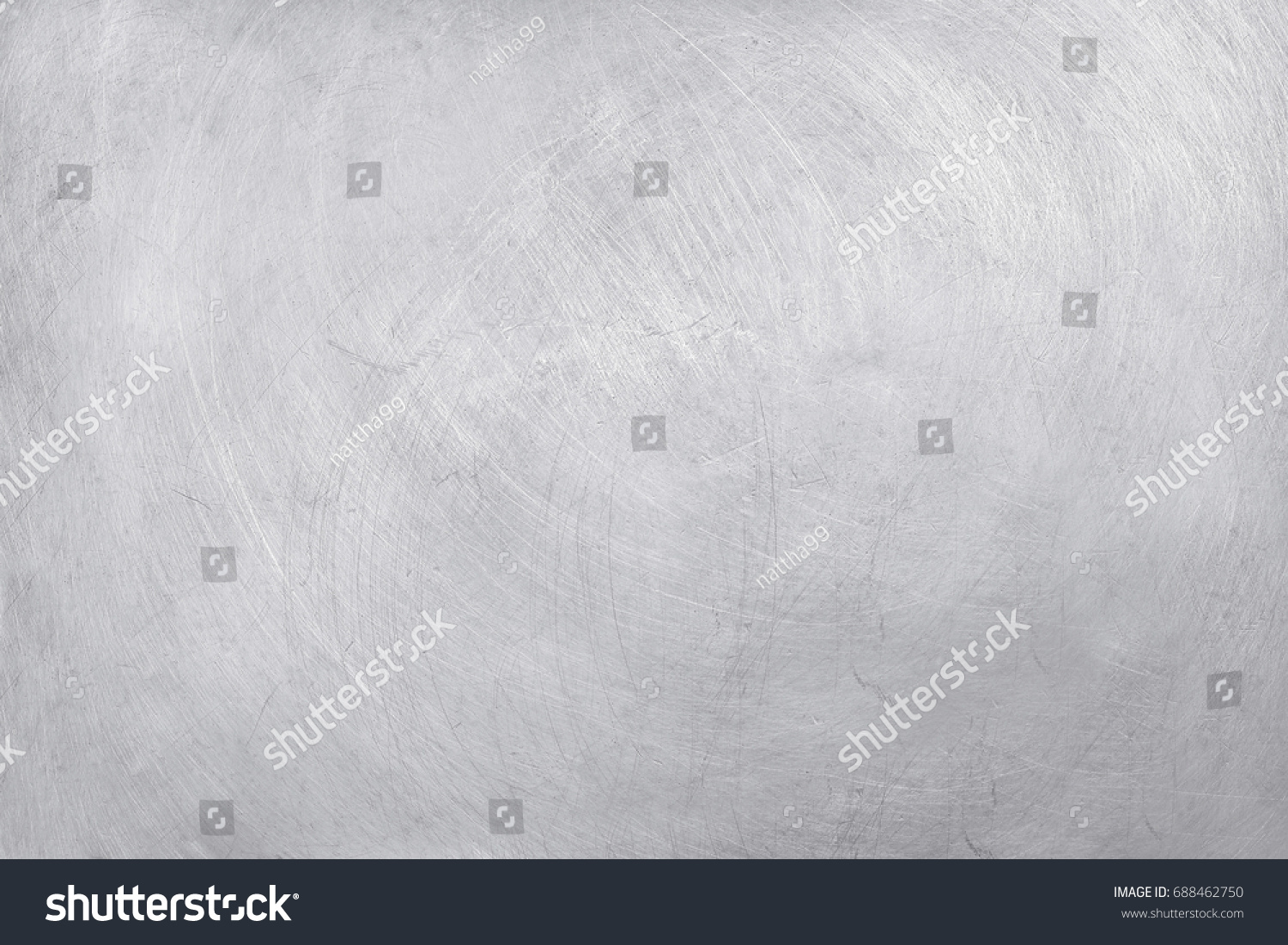 aluminium texture background, scratches on stainless steel. #688462750