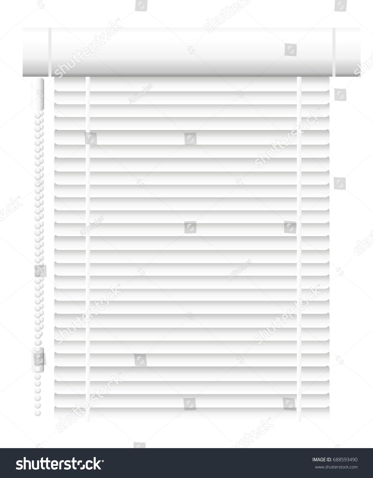 Window Shutters fice Interior Blinds Window Stock Vector