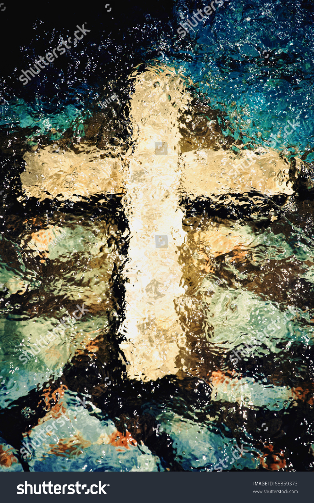 Religious christmas music background