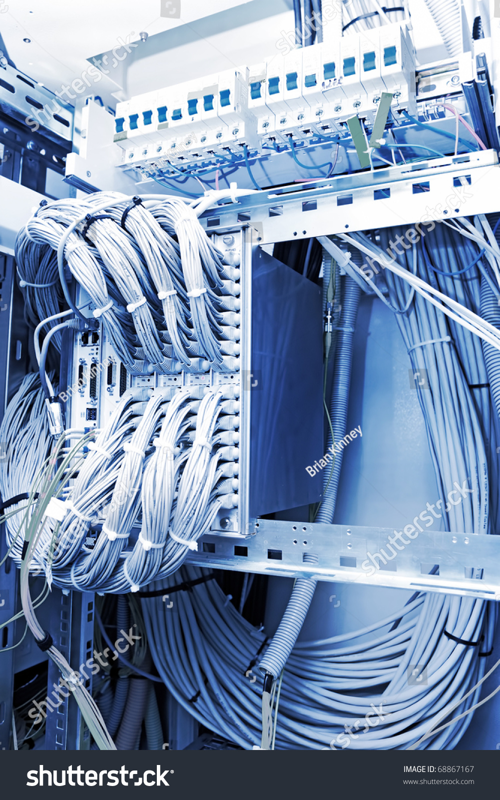 Optical Crosscountry Telecommunication Equipment Network Cables ...