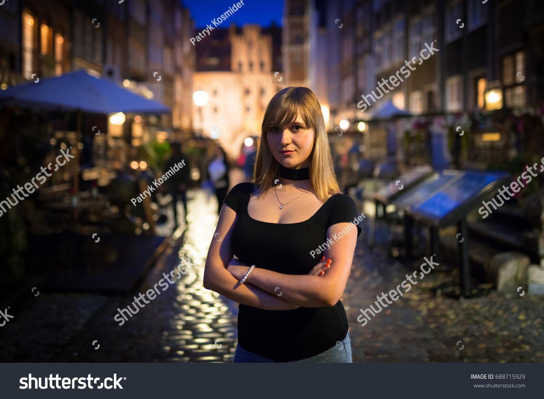 Woman in Gdansk