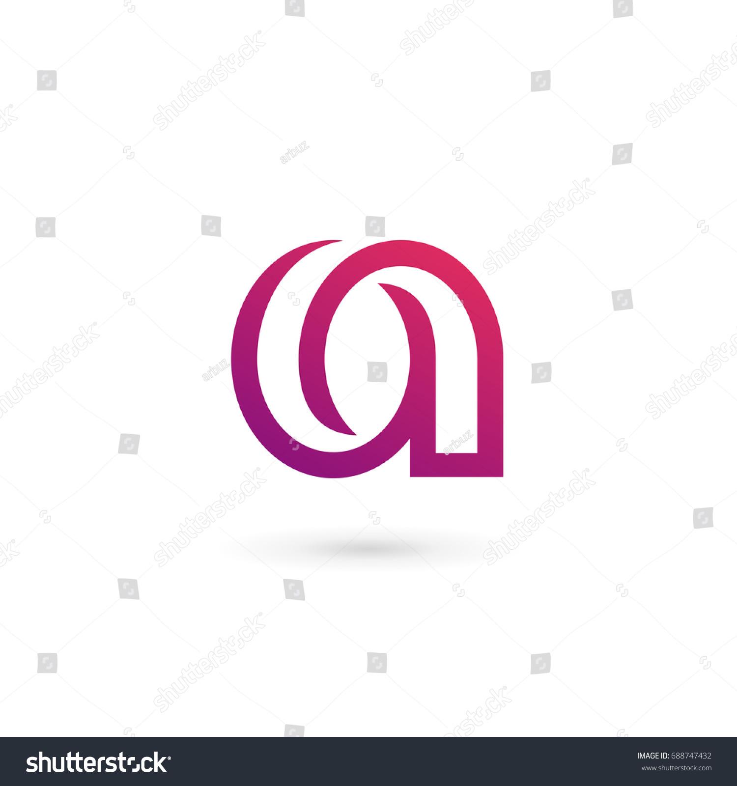 Letter Logo Icon Design Template Elements Stock