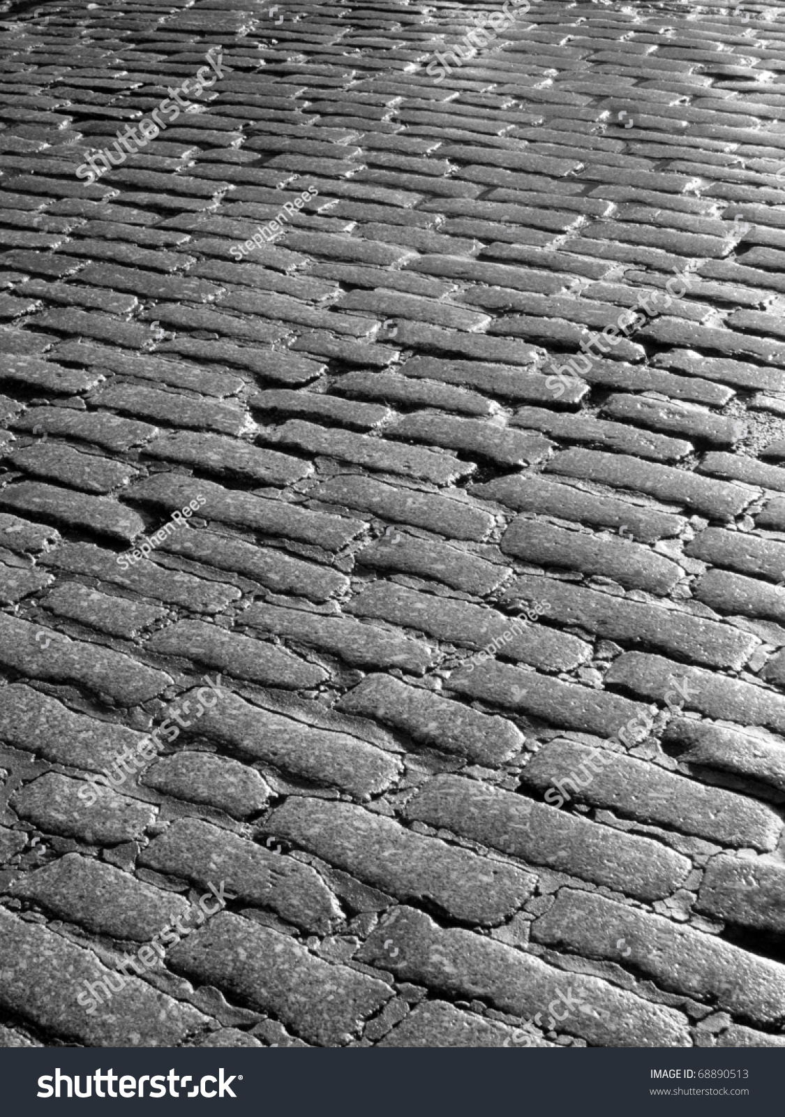 Old Cobblestone Road An Old English ...