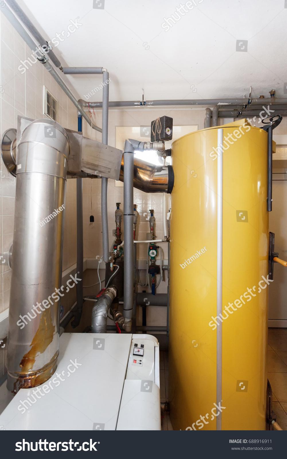 Domestic Household Boiler Room New Modern Stock Photo (Edit Now ...