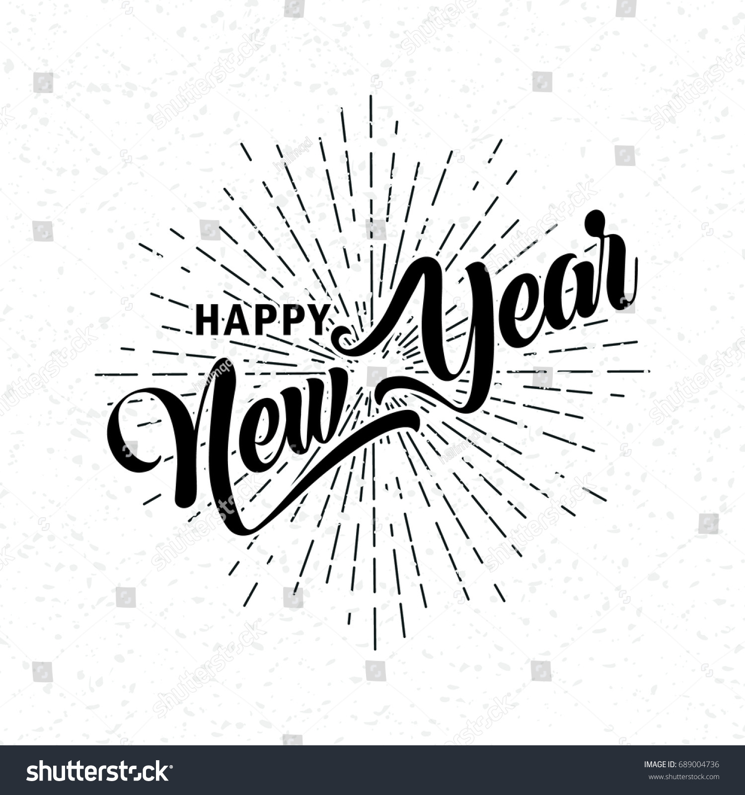 hand drawn happy new year font stock vector royalty free 689004736 https www shutterstock com image vector hand drawn happy new year font 689004736