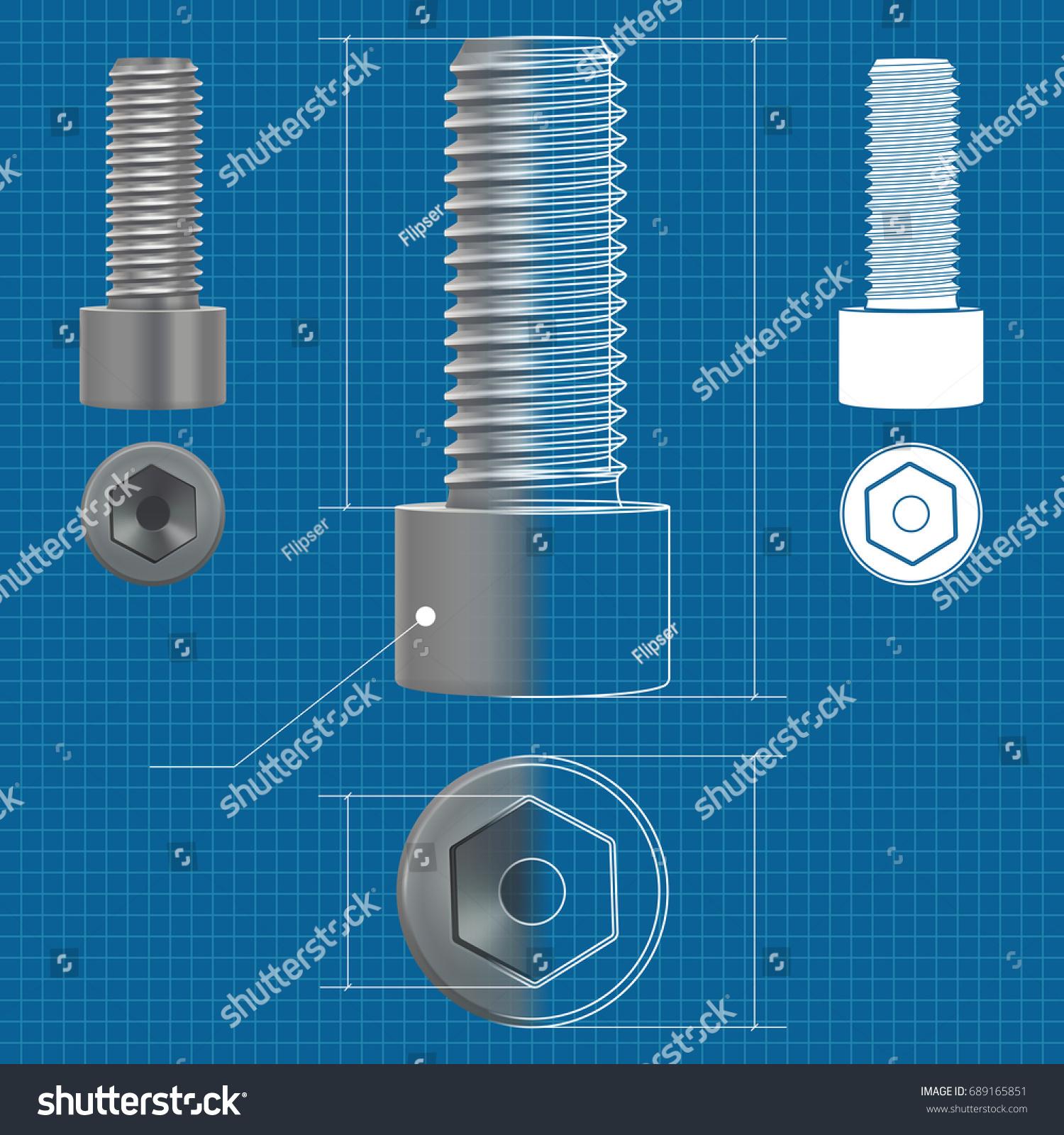 Cap hex socket bolt 3 d illustration stock illustration 689165851 cap hex socket bolt 3 d illustration stock illustration 689165851 shutterstock malvernweather Choice Image